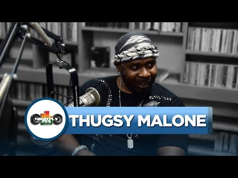 Thugsy Malone talks getting no love from Boom Boom + Shabba Ranks mentorship