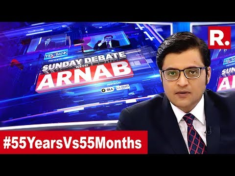 Who Has Done More For India? | Exclusive Sunday Debate With Arnab Goswami