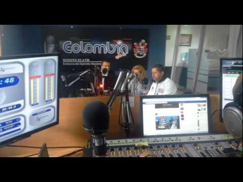 Entrevista 'Por amor a Bogotá' Colombia Stereo 93.4 FM.