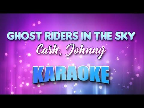 Cash, Johnny - Ghost Riders In The Sky (Karaoke & Lyrics)