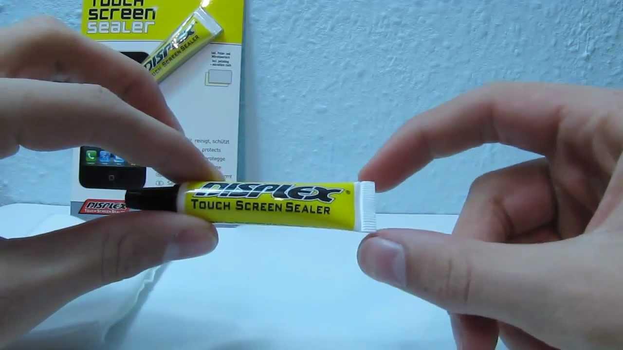 displex touchscreen sealer versiegelung f r touchscreens gadget test youtube. Black Bedroom Furniture Sets. Home Design Ideas