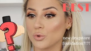 OMG!? NEW BEST DRUGSTORE FOUNDATION?! || GIO DREVELI ||