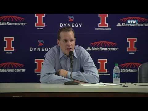 Chris Collins - Postgame Press Conference vs. Illinois