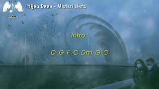 Chord & Lirik Lagu Hijau Daun - Misteri cinta
