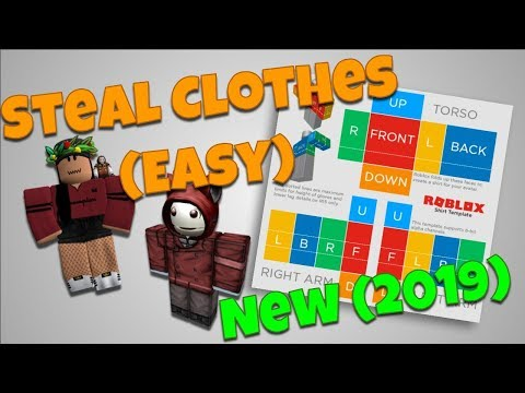 How To Steal Clothing Roblox New 2018 Copy Clothes Easy Youtube