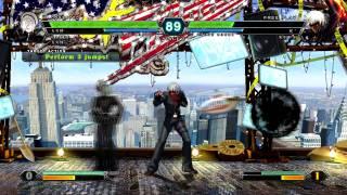 KOF XIII PC Dark Ash Gameplay