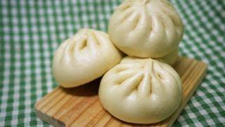 手揉快速做肉燥包子steamed buns 使用金屬蒸籠電鍋含蒸煮 ...