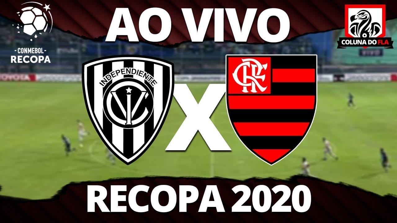 Independiente Del Valle X Flamengo Ao Vivo Recopa 2020 Narracao Rubro Negra Youtube