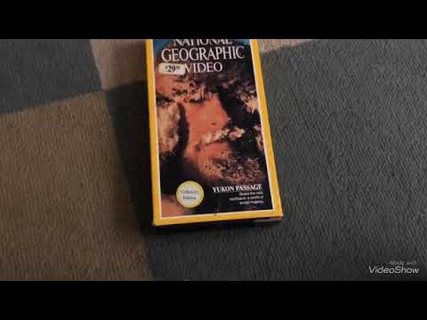 National Geographic Video Yukon Passage VHS review