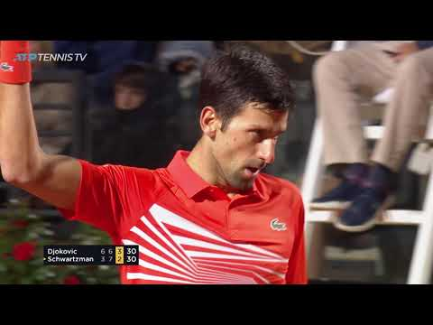 Novak Djokovic Brilliance vs Schwartzman | Rome 2019 Semi-Final