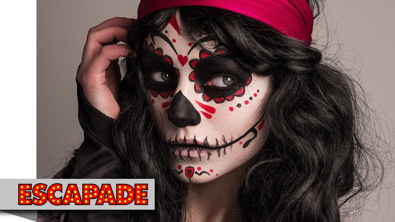 Day Dead Makeup Tutorial Halloween Ideas