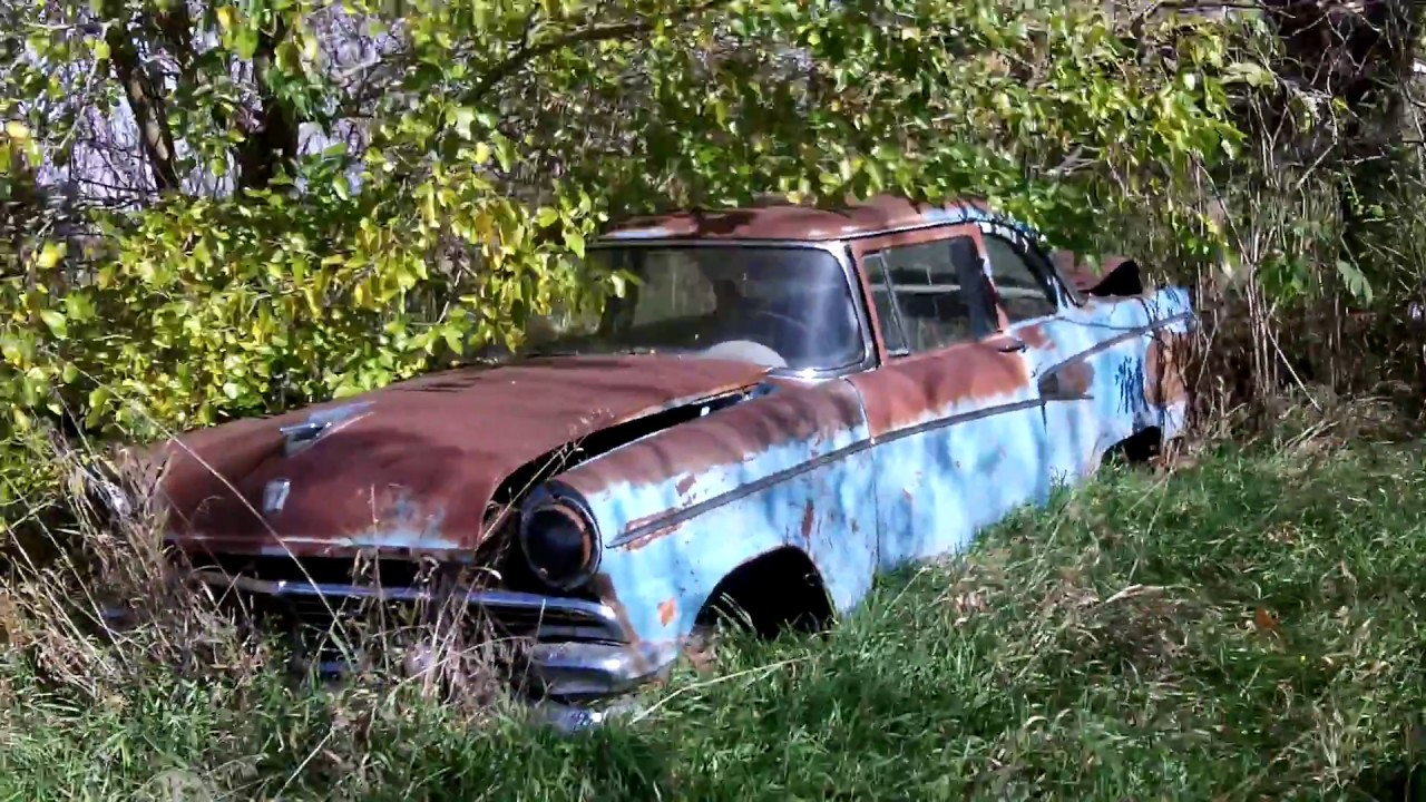 1956 ford customline wagon old car hunt - 1956 Ford Customline 2 Door Sedan