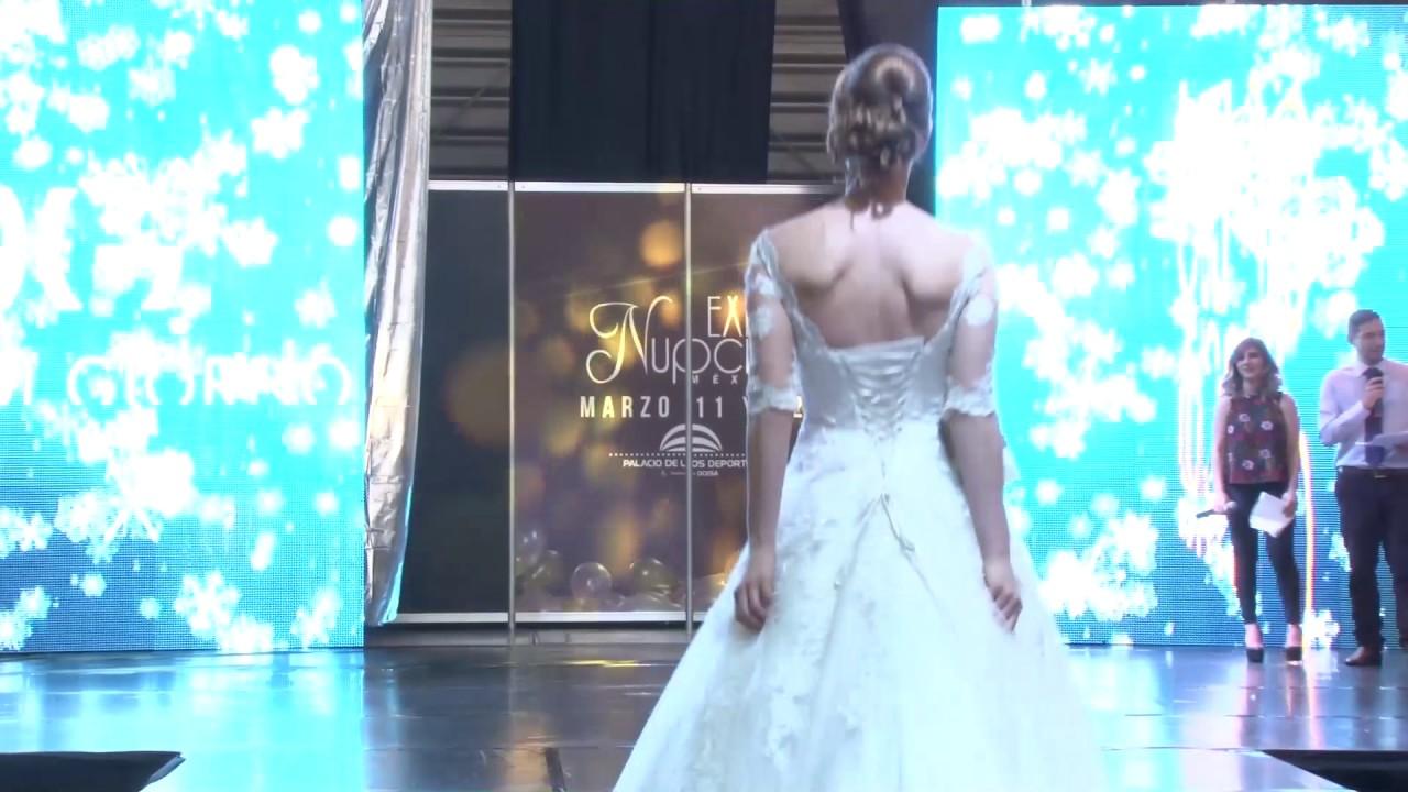 Expo Nupcias Pasarela de vestidos de novia por Diana Di Giorno Marzo ...
