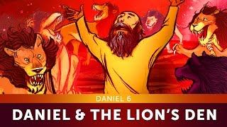 Sunday School Lesson for Kids - Daniel and the Lion's Den - Daniel 6 - Bible Teaching Stories