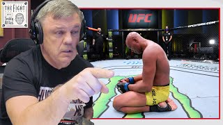 Teddy Atlas gets choked up talking about Anderson Silva   CLIPS