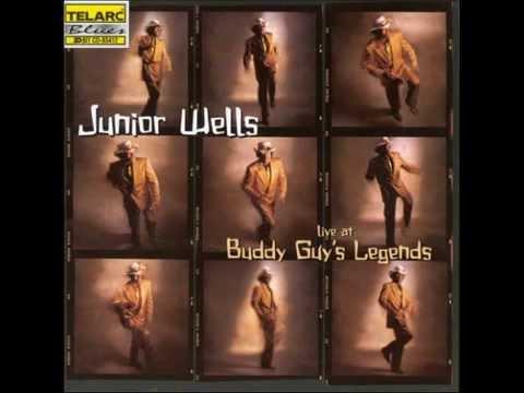 JUNIOR WELLS--live at Buddy Guy's Legends 13/15/1996