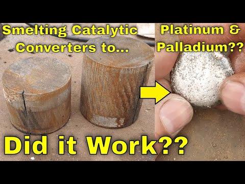Smelting Platinum/Palladium Catalytic Converters For PGMs..... Success???
