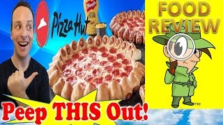Pizza Hut® | Hot Dog Bites Pizza Review! Peep THIS Out!