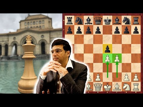 Must See! King's Gambit Against Anand Himself!
