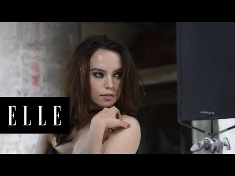 Daisy Ridley December Cover Star | Behind the Scenes | ELLE