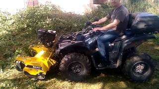 Rammy 120 ATV - conditions difficiles