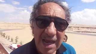 الفنانيين المصريين فى أول موقع حفر بقناة السويس الجيددة أكتوبر2014