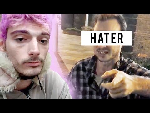 MEETING A HATER IN REAL LIFE