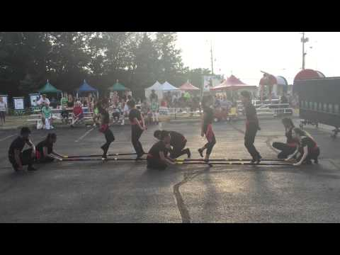Michael Jackson Hiphop Tinikling Dance - The Fest Performance