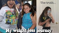 what I've learned throughout my weight loss journey at 12 years old