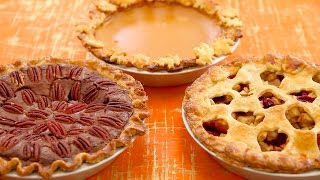 3 Homemade Pies (Pumpkin, Apple, Pecan Fudge) - Gemma