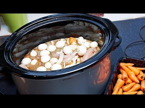 Chicken Casserole Slow Cooked - Slow Cooker Crock Pot Chicken Casserole