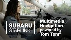 SUBARU STARLINK TomTom Navigation Overview (2020 Updated)