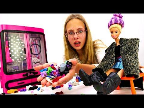 Барби собирается на свидание. Игры одевалки. Видео для девочек