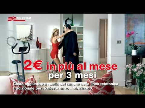 Spot Telecom con Michelle Hunziker e John Travolta