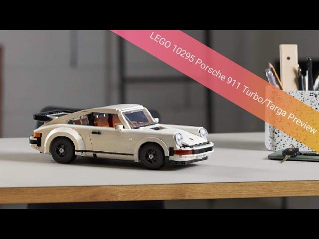 Ich habs doch gesagt... LEGO 10295 Porsche 911 Turbo/Targa Preview