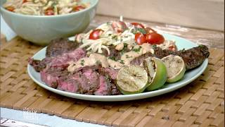 Mike Hauke's Thai Marinated Grilled Skirt Steak Recipe