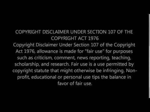 Copyright Disclaimer