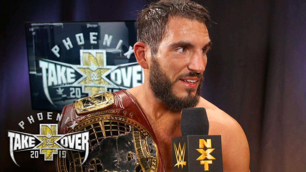 "New champion Johnny Gargano delivers ""match of the year ..."