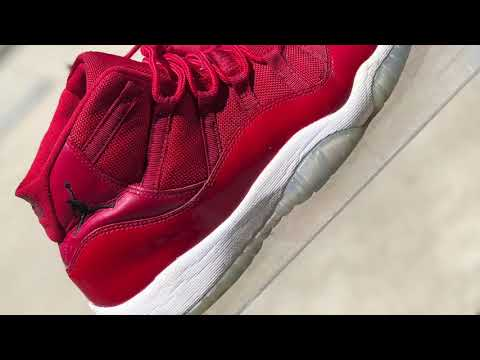 How to clean Jordan 11 ( Win Like 96 ) 😱‼️