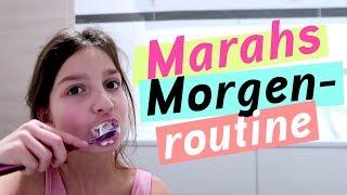 Marahs Morgenroutine / Morgen Routine einer Grundschülerin / kinder_sein / frau_sein