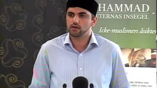 22:a Jalsa Salana Sverige 2013 - Session 2 - Tal av Qamer Munir Chaudhry