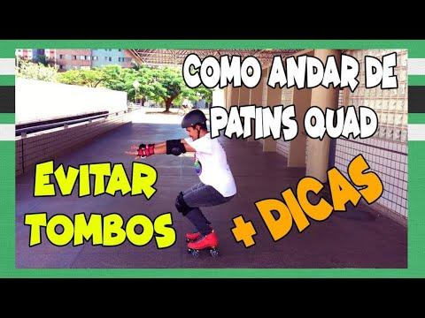 1º EP - COMO ANDAR DE PATINS QUAD PRA FRENTE, EVITAR TOMBOS, FREIAR, MELHORAR O EQUILIBRIO + DICAS