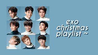 exo christmas playlist ❄