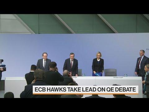 ECB Hawks Make Noise on QE as Doves Stay Silent