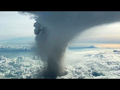 Philippine Taal volcano begins spewing lava