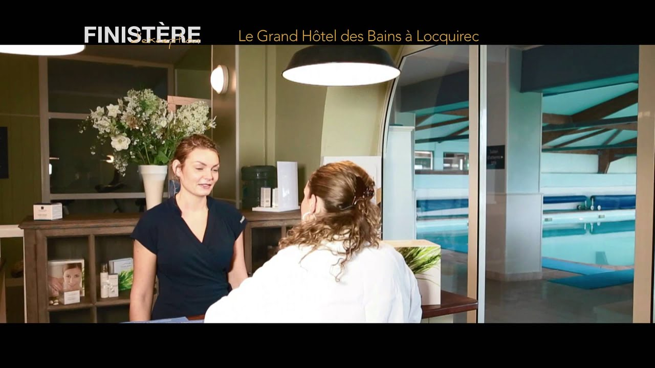 Le grand h tel des bains locquirec youtube for Grand hotel des bain