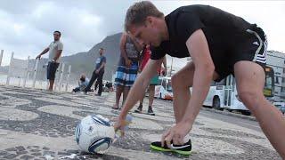 Schiri Spray EXTREM - Oliver Pocher macht den Alltagstest in Brasilien