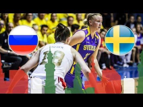 Russia v Sweden - Full Game - Round of 16 - FIBA U20 Women