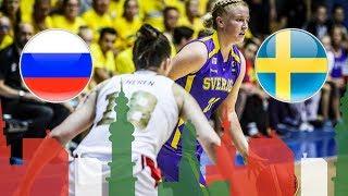 Russia v Sweden - Full Game - Round of 16 - FIBA U20 Women's European Championship 2018