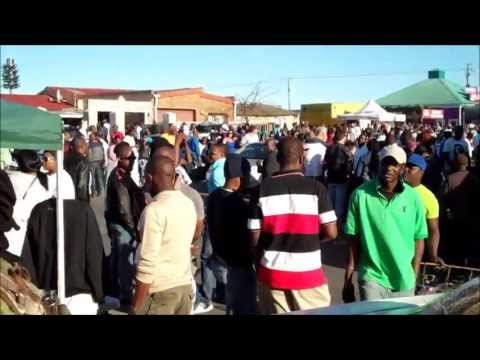 Street Party at Mzoli's near Cape Town, South Africa